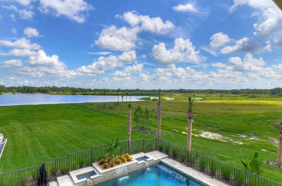 Dr Horton Colorado for a Mediterranean Pool with a Dr Horton and the Toscana Model at Stonelake Ranch, Thonotosassa by Emerald Homes Tampa