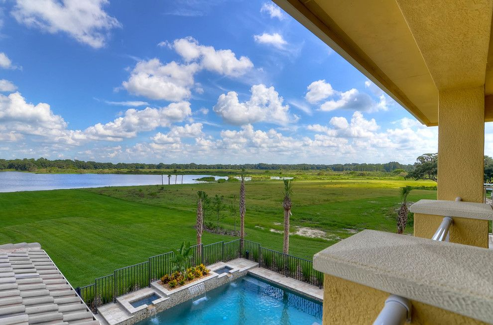 Dr Horton Colorado for a Mediterranean Porch with a Acreage and the Toscana Model at Stonelake Ranch, Thonotosassa by Emerald Homes Tampa