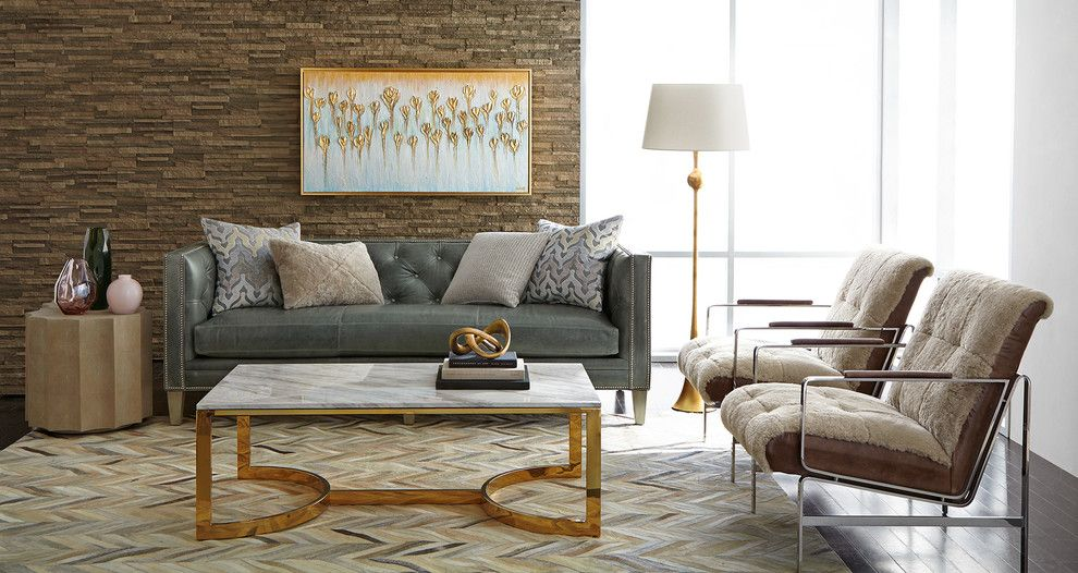 Dr Horton Dallas for a Transitional Living Room with a Transitional and Horchow by Horchow