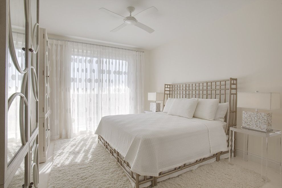 Drakes Landing for a Contemporary Bedroom with a Table Lamp and Naples Florida by Joie Wilson
