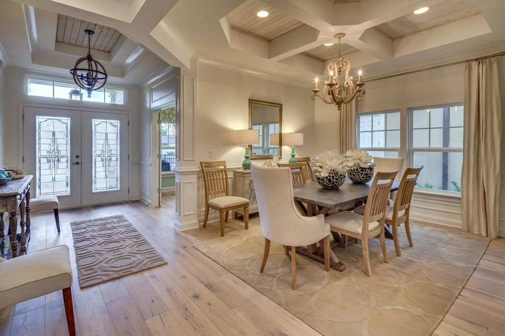 Dream Finders Homes for a Transitional Dining Room with a Transitional and Boca Ii Project by Dream Finders Homes
