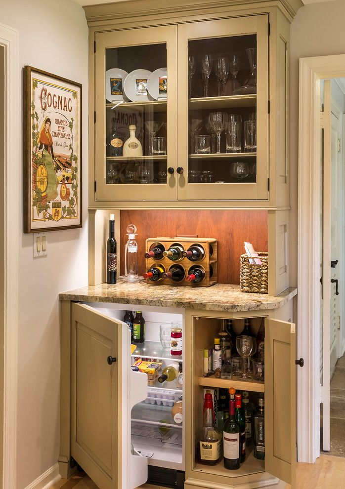 Dry Bar Upper West Side for a Farmhouse Home Bar with a Liquor Storage and 2014 Fox Valley Food for Health Kitchen Walk by Pb Kitchen Design