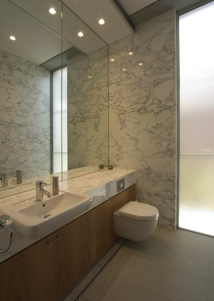 Duravit Usa for a Modern Bathroom with a Modern and Mosman House by Porebski Architects