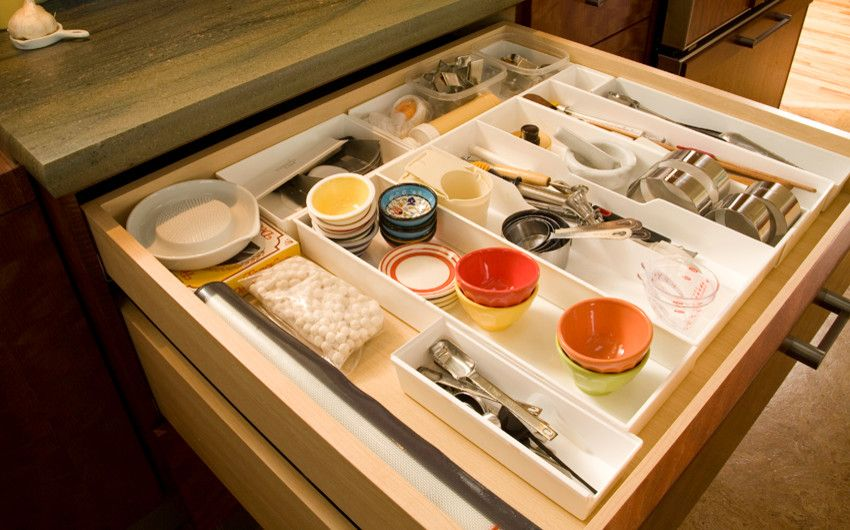 Dutalier for a Eclectic Kitchen with a Utensil Drawer and Storage Beyond the Norm! by Richard Landon Design