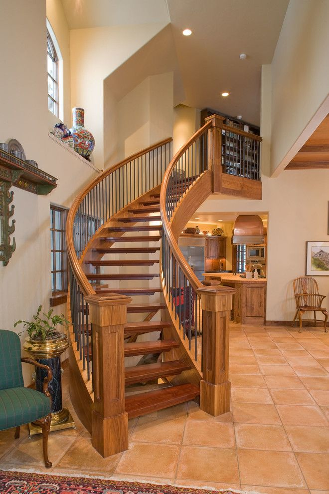 Eastern Oregon Telecom for a Contemporary Staircase with a Contemporary and Contemporary Residence Eastern Oregon by Butterfly Multimedia