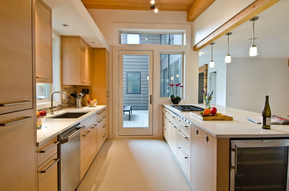 Eclipse Window Tinting for a Contemporary Kitchen with a Transom and Queen Anne Residence by Lee Edwards   Residential Design
