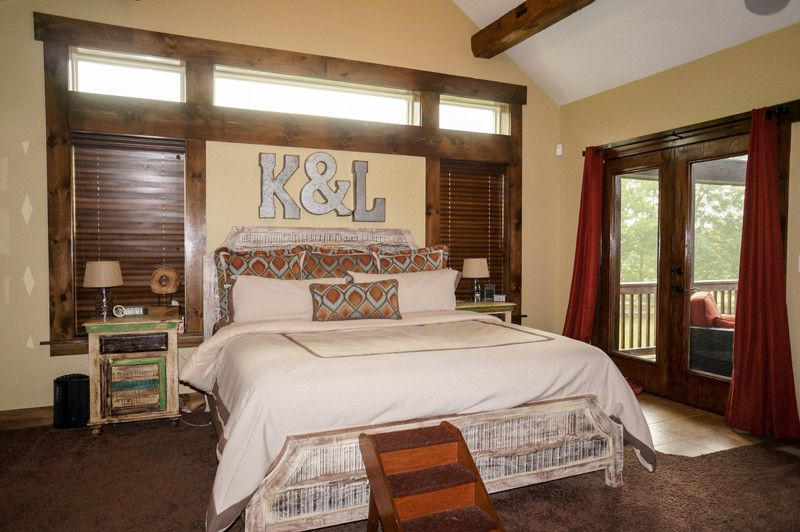 Ecosmart for a Rustic Bedroom with a Djk Custom Homes and Grand Teton Eco Smart Home | Naperville, Il by Djk Custom Homes