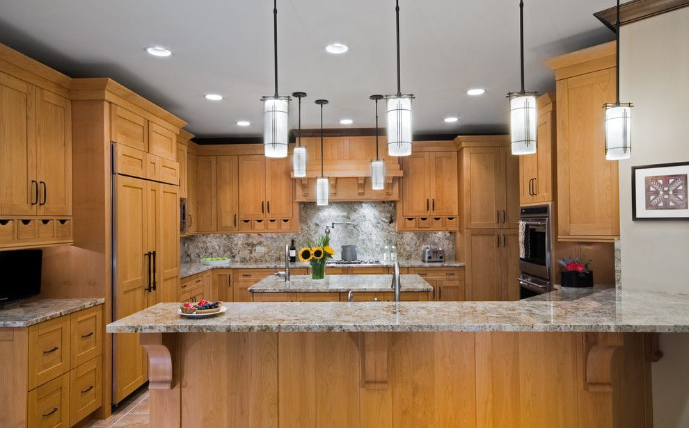 Eden Prairie Appliance for a Transitional Kitchen with a Appliances and Overall View by the Kitchen Studio of Glen Ellyn