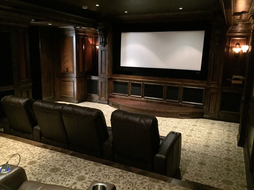 Edina Movie Theater for a Traditional Home Theater with a in Home Theatre and Rancho Santa Fe Full House, and Underground Theater by A/v Consulting