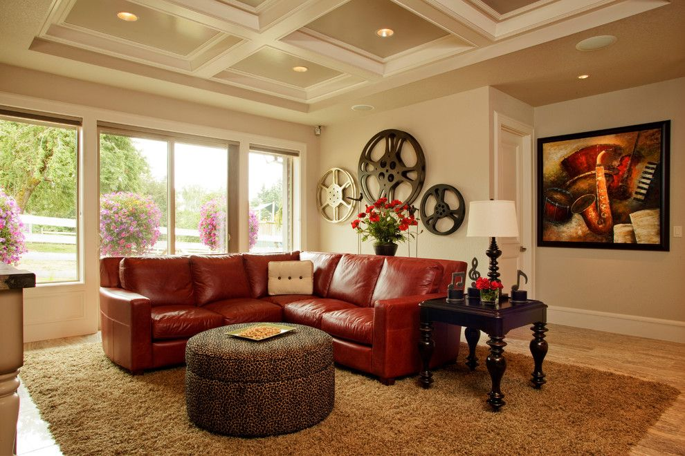 Edina Movie Theater for a Traditional Home Theater with a Tv Room and 2011 Street of Dreams (