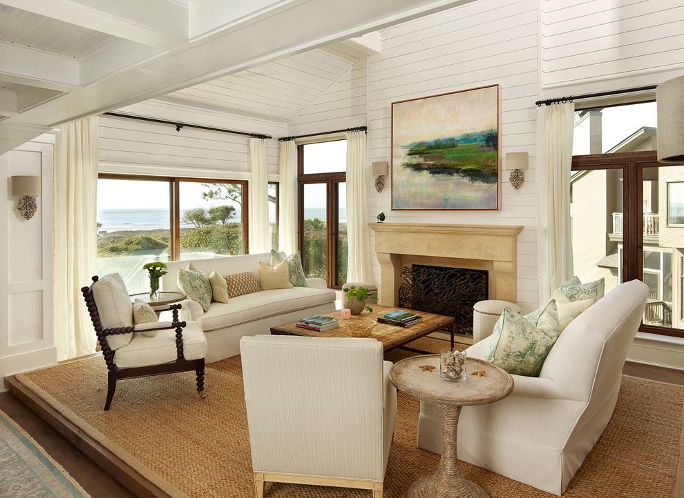 Edmond Furniture Gallery for a Beach Style Living Room with a Architects and Duneside Renovations & Additions by M. Brennan Architects, Inc.