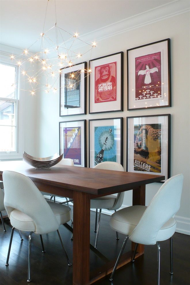 Edmond Furniture Gallery for a Contemporary Dining Room with a Posters and Dining Room by Shirley Meisels