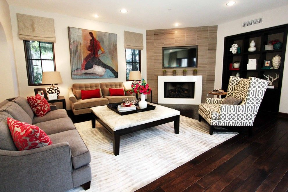 Edmond Furniture Gallery for a Contemporary Living Room with a Contemporary Family Room in Shady Canyon and Stiles Fischer Recent Projects by Nate Fischer Interiors