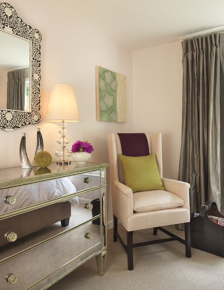 Edmond Furniture Gallery for a Traditional Bedroom with a Drapes and Bedroom by Rachel Reider Interiors