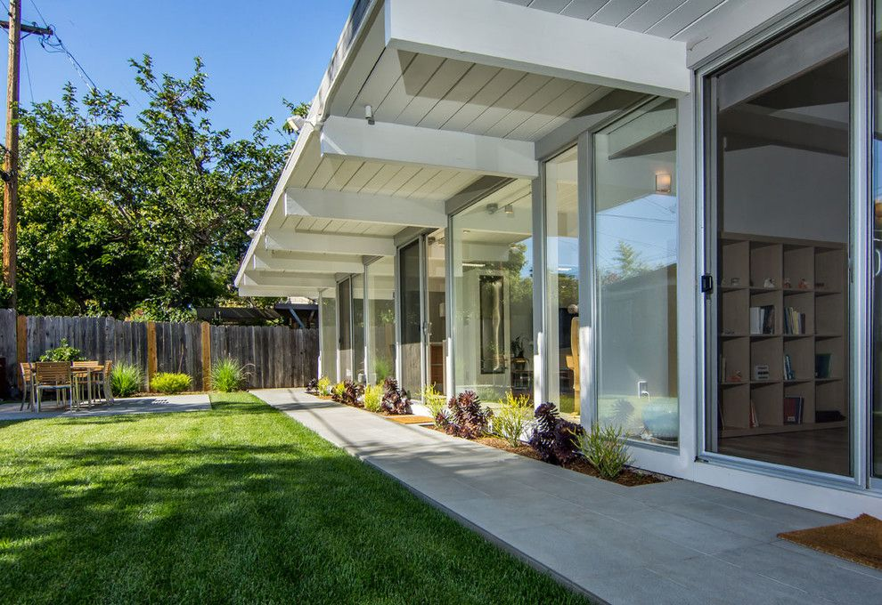 Eichler House for a Midcentury Exterior with a Eichler Remodeling and Eichler Renovation by Bill Fry Construction   Wm. H. Fry Const. Co.