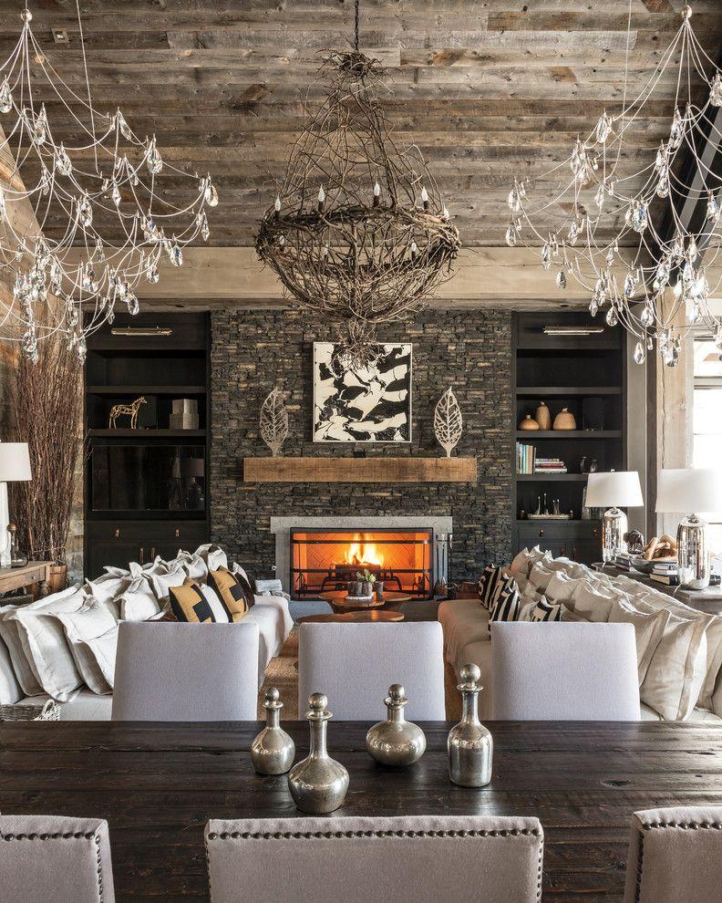 El Dorado Golf and Beach Club for a Rustic Dining Room with a Rustic and Eldorado Stone 2017 by Eldorado Stone