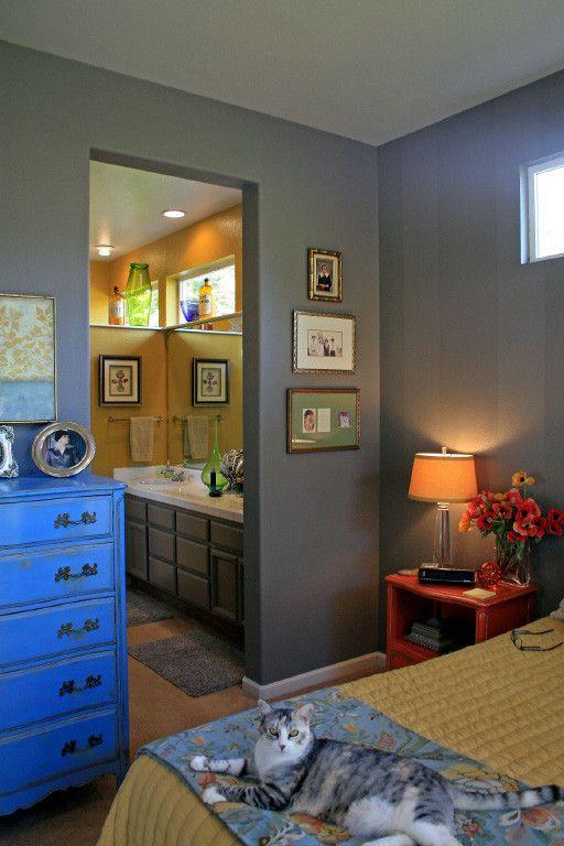 El Dorado Hills Theater for a Transitional Bedroom with a Sacramento Interior Designer and El Dorado Hills Master Bedroom Design by Mussman Design Associates