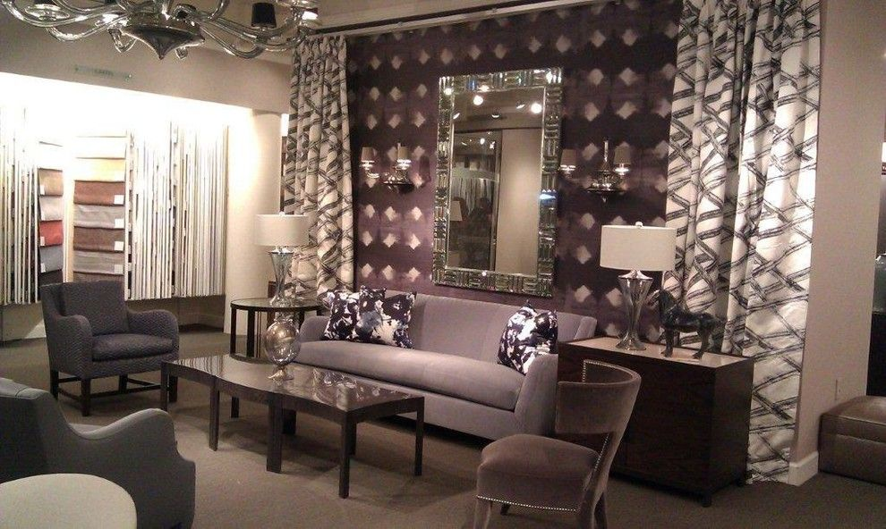 Elitis for a  Spaces with a Table and Donghia Atlanta 1 by Donghia Atlanta