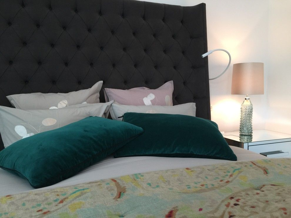 Elitis for a Traditional Bedroom with a Bed Pillows and Z Townhouse by Fj Interior Design