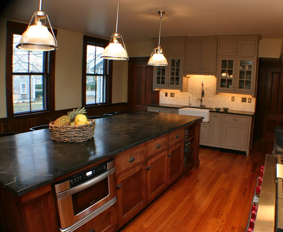 Elkay.com for a Traditional Kitchen with a Subzero and Period Charm in Yarmouthport, Ma by Artisan Kitchens Inc.