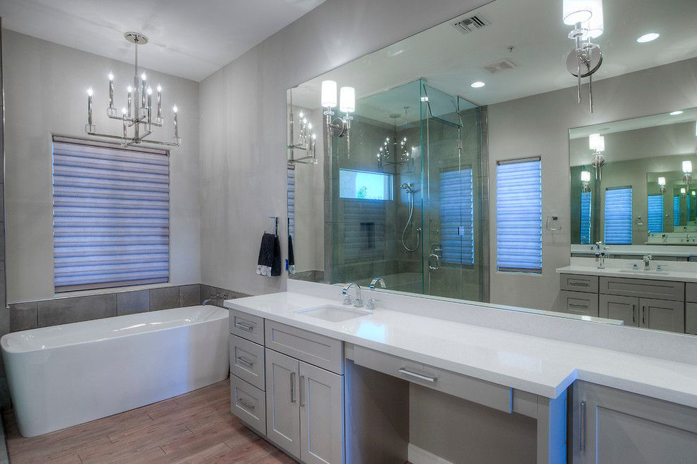 Embassy Suites Scottsdale for a Modern Bathroom with a Custom Homes and Marioposa Grande Remodel by Alair Homes Scottsdale