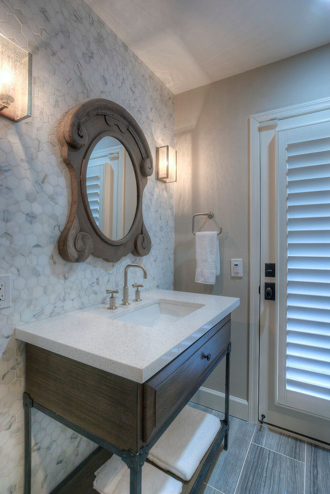 Embassy Suites Scottsdale for a Modern Bathroom with a Remodel and Del Caverna Home Remodel by Alair Homes Scottsdale