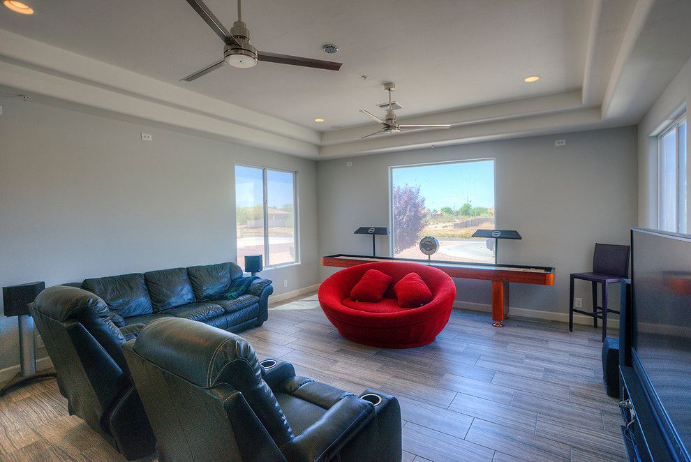Embassy Suites Scottsdale for a Modern Living Room with a Tile and Marioposa Grande Remodel by Alair Homes Scottsdale