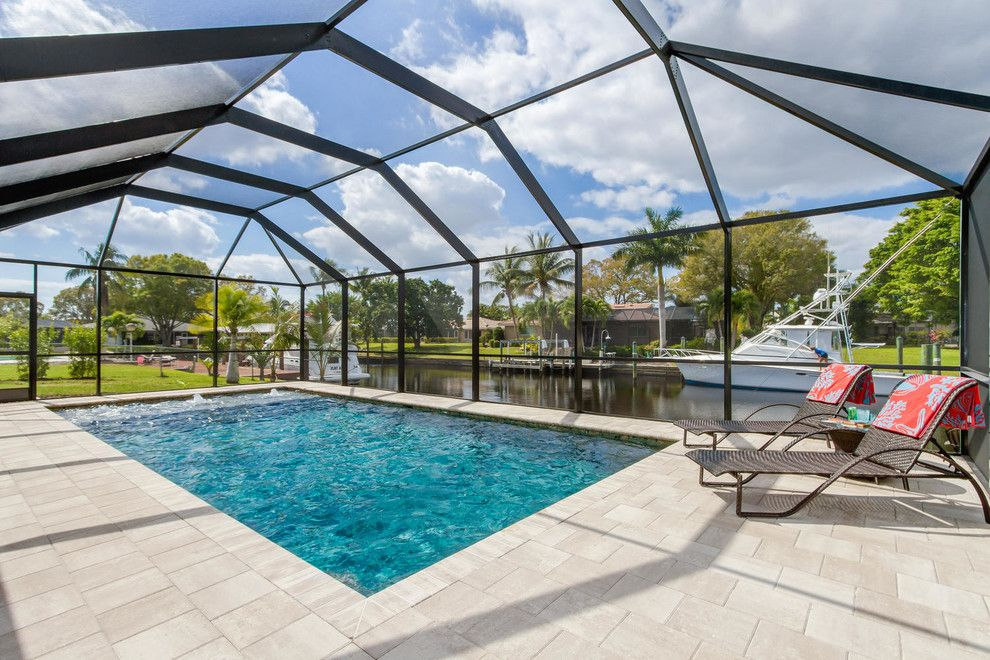 Enterprise Naples Fl for a Beach Style Spaces with a Ft Myers and Jackson Custom Pools by Jackson Custom Pools