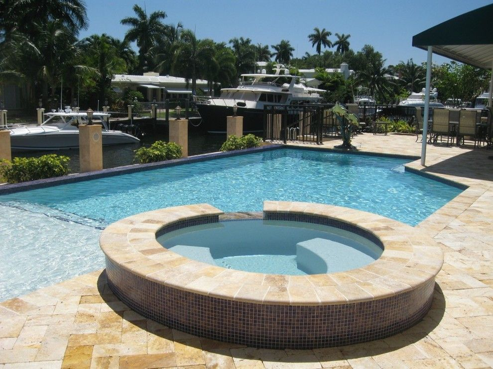 Enterprise Naples Fl for a Beach Style Spaces with a Swimming Pool Contractor and Jackson Custom Pools by Jackson Custom Pools