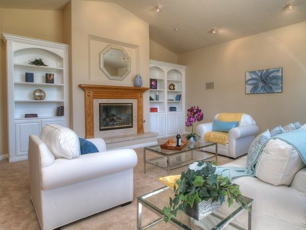 Enterprise Simi Valley for a Traditional Living Room with a Home Stager and Simi Valley Special by Delicious Decors