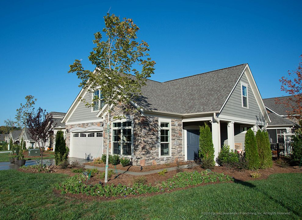 Epcon Communities for a Traditional Exterior with a Traditional and Epcon Communities Home Exteriors by Epcon Communities