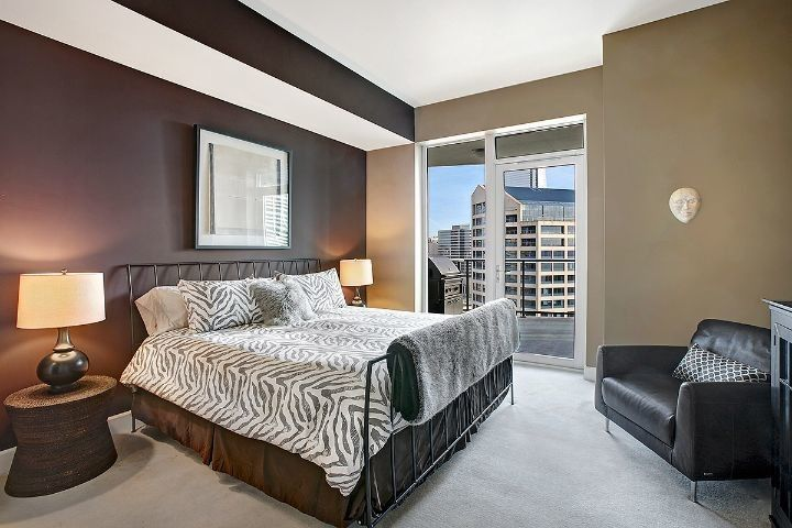 Escala Seattle for a Contemporary Bedroom with a Contemporary and Downtown Seattle   Escala by the Enhanced Home