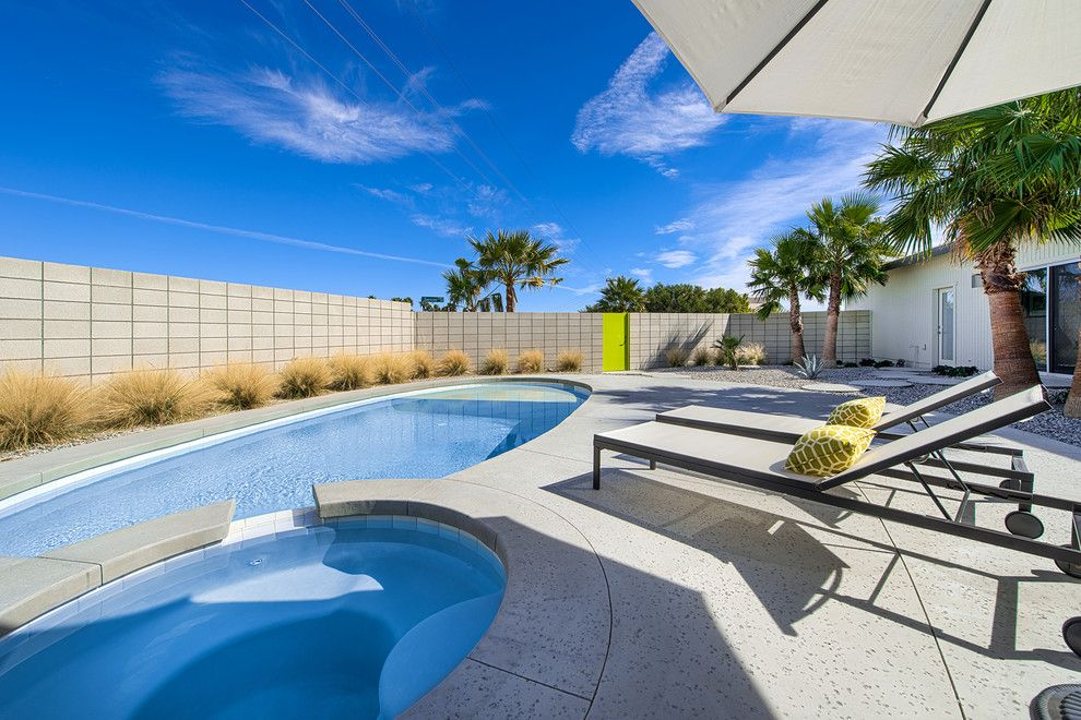 Escena Palm Springs for a Contemporary Pool with a Modern and Real Estate by Ndc Homes, Inc.