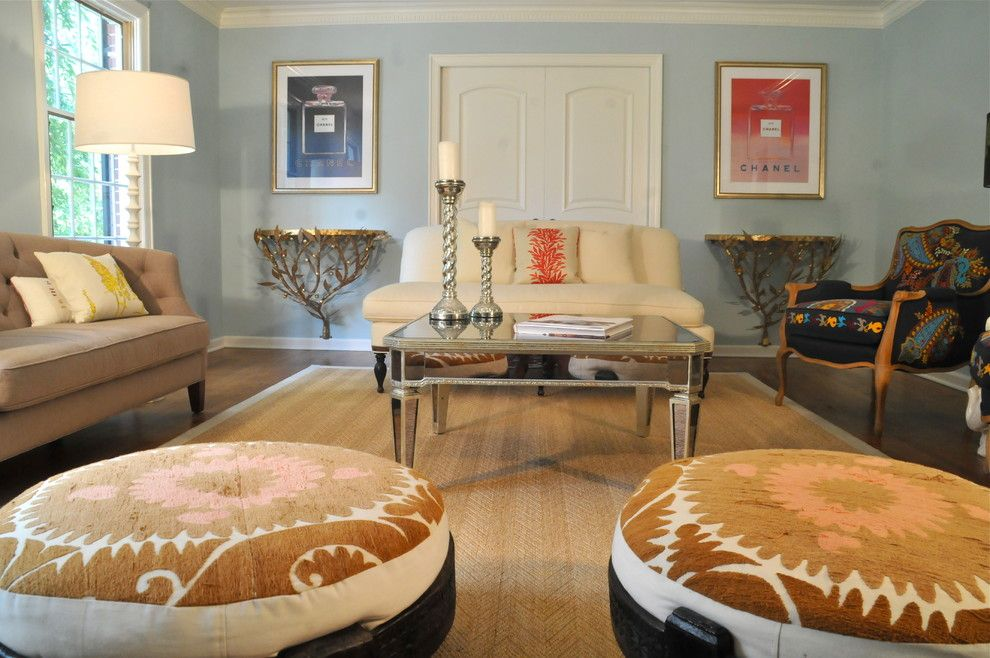 Essex Fells Nj for a Contemporary Living Room with a Multicolored Arm Chair and Essex Fells Residence 2 by Beth Interiors