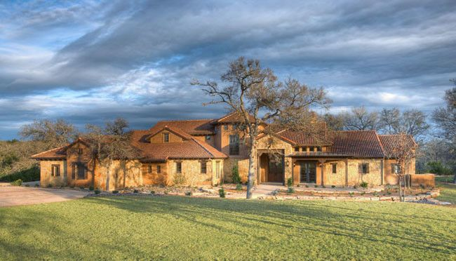Estancia Austin for a Southwestern Exterior with a Southwestern and Estancia Way by Shawn F. Hood Design