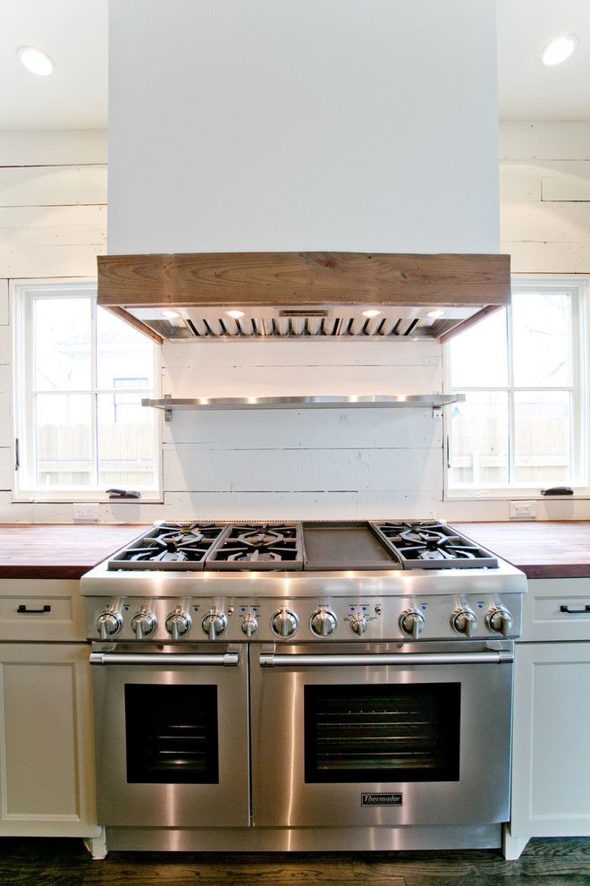 Ethan Allen Houston for a Craftsman Kitchen with a Houston Farmhouse Features a 2nd Floor Addition to a Houston and Houston Farmhouse by Steven Allen Designs, Llc