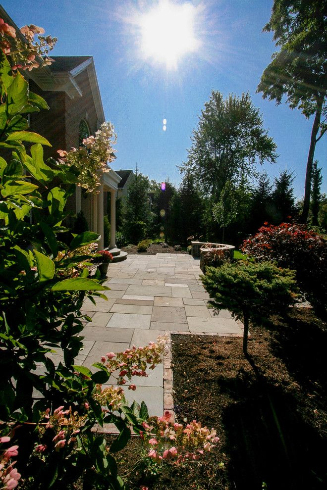 Evans Landscaping for a Craftsman Patio with a Patio Pavers and Paver Patios, Stone Patios, Retaining Walls | Albany, Troy, Clifton Park, Latham by Pearl Landscaping & Patio Company
