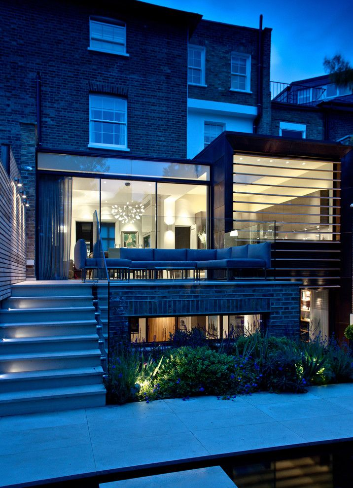 Evergreen Terrace Apartments for a Contemporary Exterior with a Patio and Private Residential   London W2 Area by Harriet Forde Design Ltd