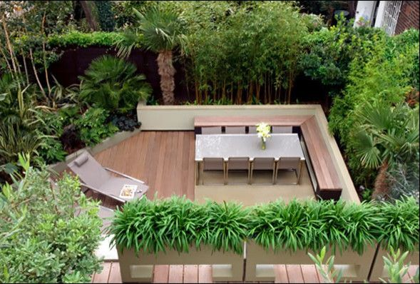 Evergreen Terrace Apartments for a Contemporary Patio with a Contemporary and Regents Park Garden by Mylandscapes