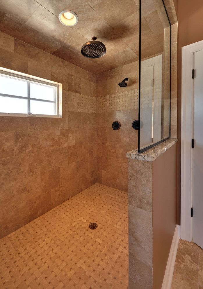Everlast Roofing for a Traditional Bathroom with a Traditional and Owner's Bath by Echelon Custom Homes