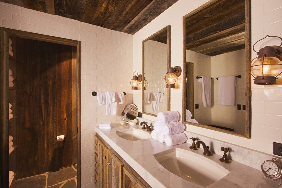 Excalibur Homes for a Traditional Bathroom with a Park City Design Features and Stylized Bathrooms for Rest & Relaxtion by Home Staging Real Estate   Park City Utah