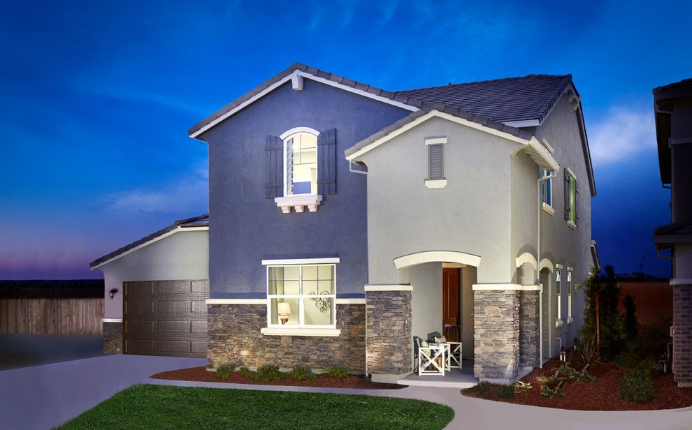 Excalibur Homes for a Traditional Exterior with a Meritage Homes and Sierra Commons | Roseville, Ca by Meritage Homes