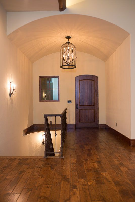 Eyebrow Arch for a Contemporary Hall with a Doors for Builders and Interior Wood Door with Eyebrow Arch. by M4l,Inc
