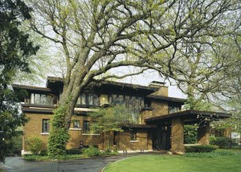 Falling Waters Frank Lloyd Wright for a Contemporary Exterior with a Tree and Contemporary Exterior by Eiflerassociates.com