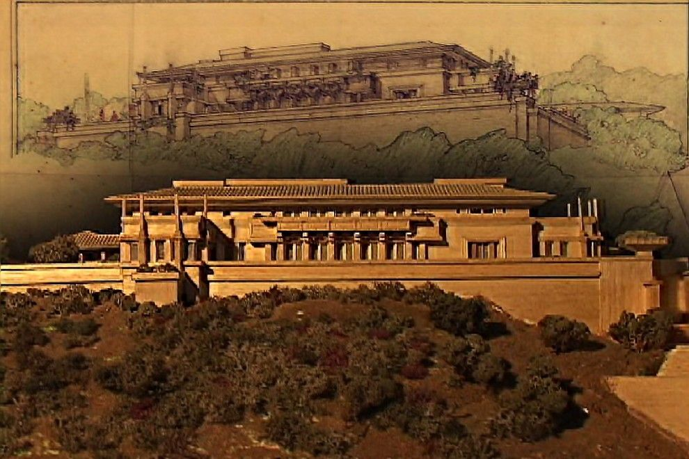 Falling Waters Frank Lloyd Wright for a Modern Spaces with a Frank Lloyd Wright and Frank Lloyd Wright's Influences in Japan by Kismet Productions