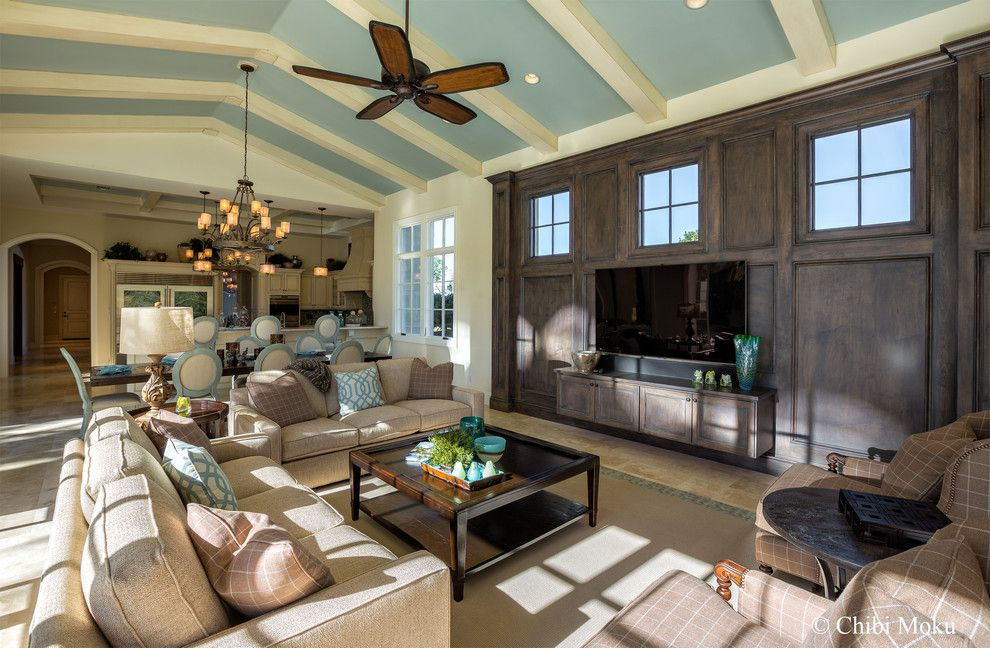 Famous Houses for a Eclectic Family Room with a Movie Star Houses and Orlando, Fl   Walt Disney Golden Oak   Villa Verona by Jones Clayton Constructio by Chibi Moku   Architectural Cinema   Photo   360