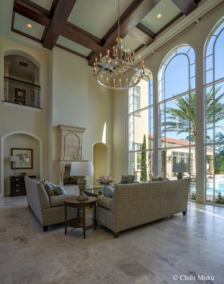Famous Houses for a Eclectic Living Room with a Florida Homes and Orlando, Fl   Walt Disney Golden Oak   Villa Verona by Jones Clayton Constructio by Chibi Moku   Architectural Cinema   Photo   360