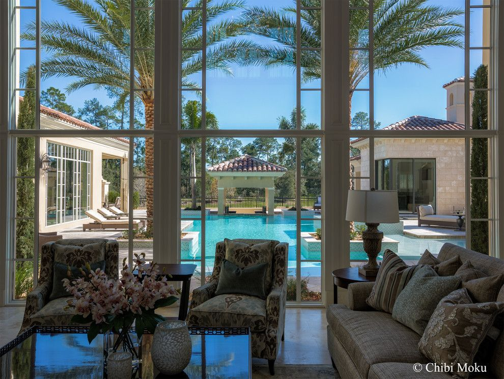 Famous Houses for a Eclectic Pool with a Luxury Home and Orlando, Fl   Walt Disney Golden Oak   Villa Verona by Jones Clayton Constructio by Chibi Moku   Architectural Cinema   Photo   360