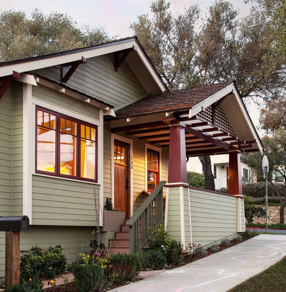 Fans Edge Promo Code for a Craftsman Porch with a Wood Siding and Craftsman Bungalow Remodel by Allen Construction