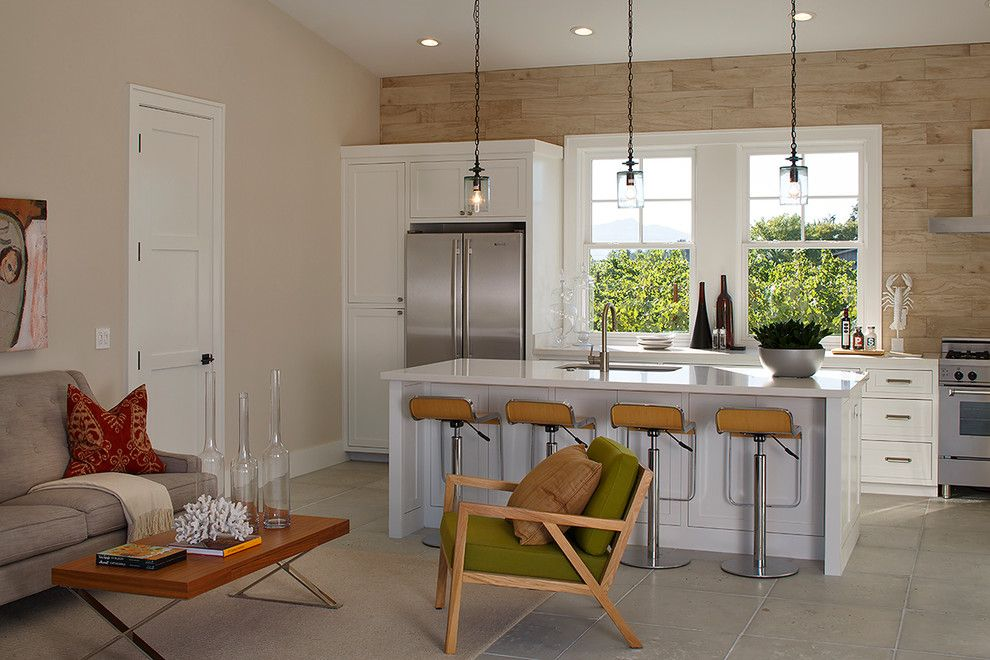 Farmstead St Helena for a Farmhouse Kitchen with a White Trim and St. Helena Residence by Artistic Designs for Living, Tineke Triggs